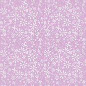 Spring Florals in Lovely Lilac