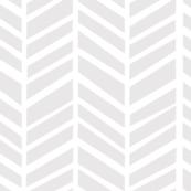Herringbone Light Grey Macro by Friztin