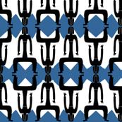 figure blue zigzag