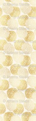 Ming Chrysanthemum in Gold Dust