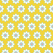 Chick-a-Doodle Small Floral: Yellow