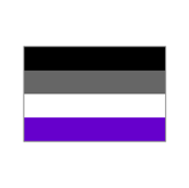 Ace Aware - Asexual Awareness Flags Pattern