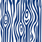 CUSTOM-Mod Grain - Navy & White stripe