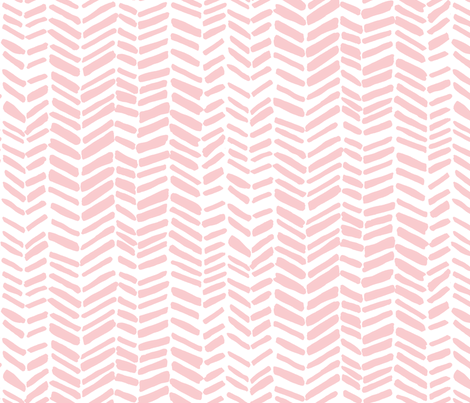 Impression White/Pink fabric by leanne on Spoonflower - custom fabric