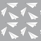paper planes grey- elvelyckan