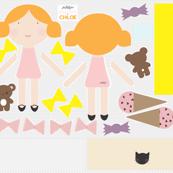 Chloe - Doll Fabric