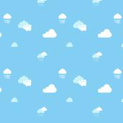 Rainclouds in Daytime Stripe
