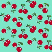 Cherries red x mint