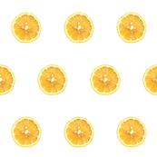 Cirtus Polka Dots, Lemon