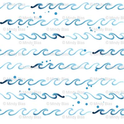 Ocean Wave - White