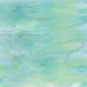 Green Dawn Watercolor Paint Effect
