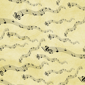 Musical Notes Yellow