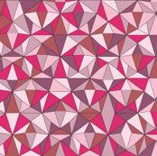 Triangles Powder Pink