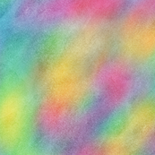 Bright Rainbow Watercolor Pattern
