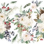 Winterberry Floral Arrangement