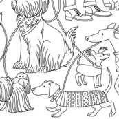 Dog Walkers in Love