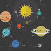 Solar System Play Mat -1 Yard