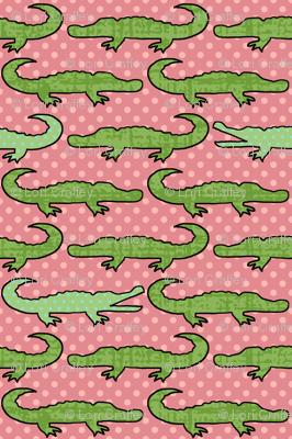 Bigger Gator Pink