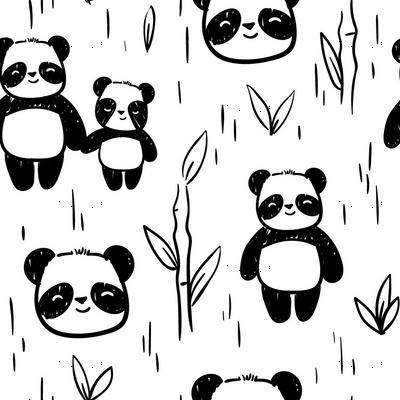 Happy Panda Bamboo