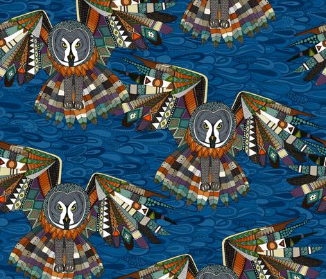 night owls fabric by scrummy on Spoonflower - custom fabric