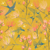 Golden Summer for Swallows & Magnolias