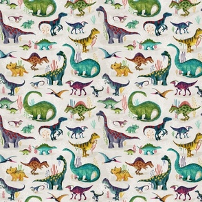 Dinosaurs bright {small}