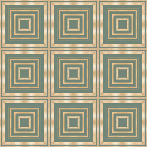 Tender Mosaic vintage geometric pattern 6 fabric by julia_dreams on Spoonflower - custom fabric
