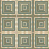 Tender Mosaic vintage geometric pattern 6