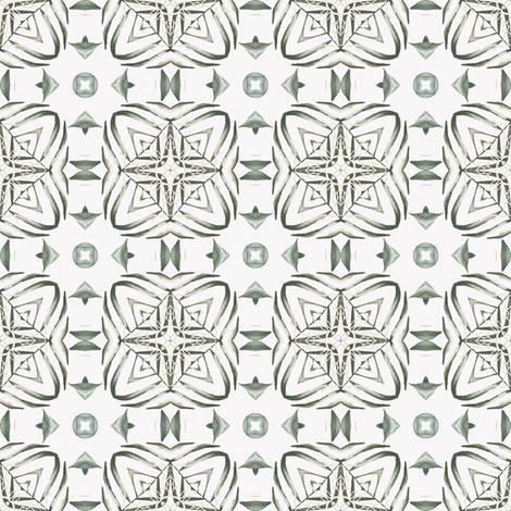 Tender Mosaic vintage geometric pattern 9 fabric by julia_dreams on Spoonflower - custom fabric