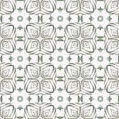 Tender Mosaic vintage geometric pattern 9