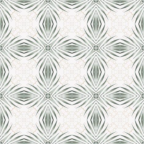 Tender Mosaic vintage geometric pattern 11 fabric by julia_dreams on Spoonflower - custom fabric