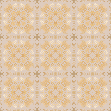 Tender Mosaic vintage geometric pattern 13 fabric by julia_dreams on Spoonflower - custom fabric