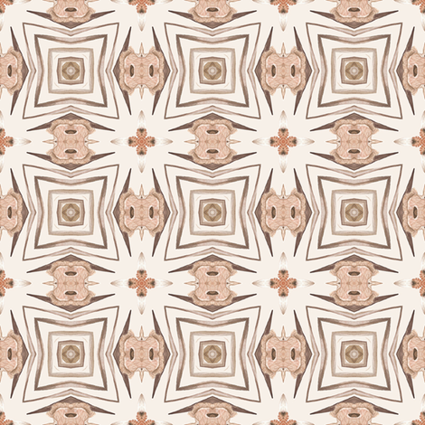 Tender Mosaic vintage geometric pattern 17 fabric by julia_dreams on Spoonflower - custom fabric