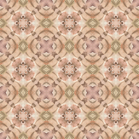 Tender Mosaic vintage geometric pattern 19 fabric by julia_dreams on Spoonflower - custom fabric