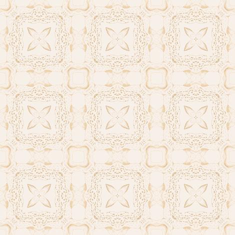 Tender Mosaic vintage geometric pattern 22 fabric by julia_dreams on Spoonflower - custom fabric