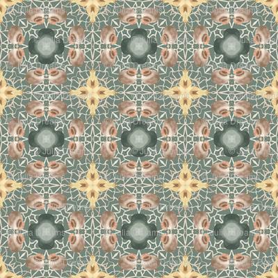 Tender Mosaic vintage geometric pattern 25