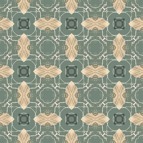 Tender Mosaic vintage geometric pattern 27 fabric by julia_dreams on Spoonflower - custom fabric