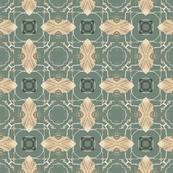 Tender Mosaic vintage geometric pattern 27