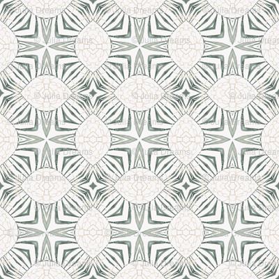 Tender Mosaic vintage geometric pattern 30