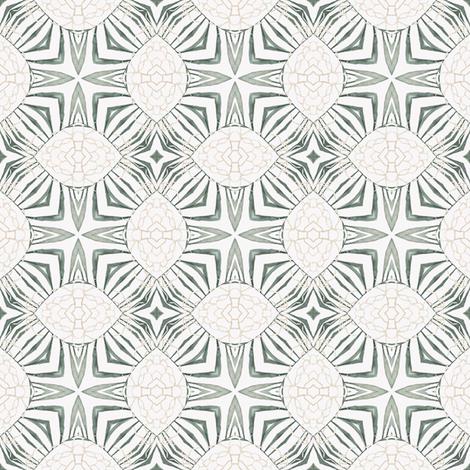 Tender Mosaic vintage geometric pattern 30 fabric by julia_dreams on Spoonflower - custom fabric