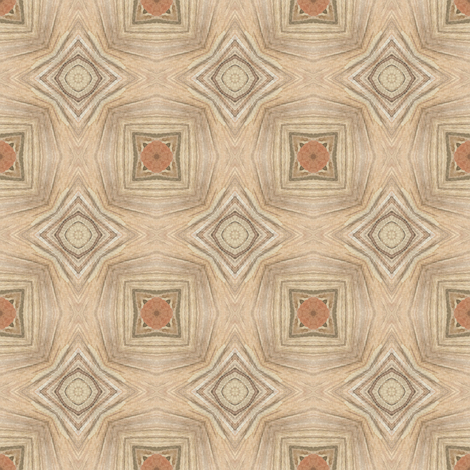 Tender Mosaic vintage geometric pattern 35 fabric by julia_dreams on Spoonflower - custom fabric