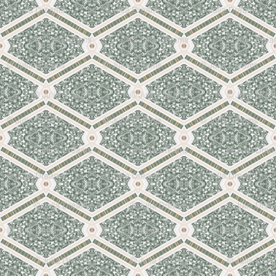 Tender Mosaic vintage geometric pattern 44