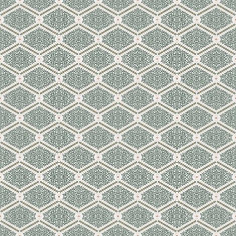 Tender Mosaic vintage geometric pattern 44 fabric by julia_dreams on Spoonflower - custom fabric