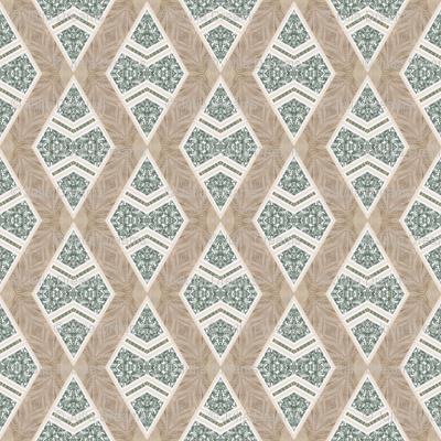 Tender Mosaic vintage geometric pattern 49