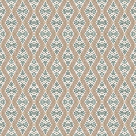 Tender Mosaic vintage geometric pattern 49 fabric by julia_dreams on Spoonflower - custom fabric
