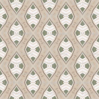 Tender Mosaic vintage geometric pattern 62