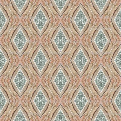 Tender Mosaic vintage geometric pattern 64