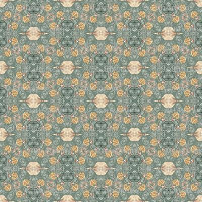 Tender Mosaic vintage geometric pattern 76