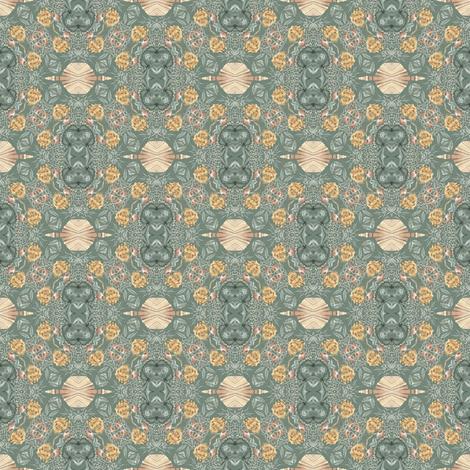 Tender Mosaic vintage geometric pattern 76 fabric by julia_dreams on Spoonflower - custom fabric