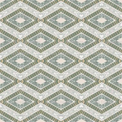 Tender Mosaic vintage geometric pattern 77